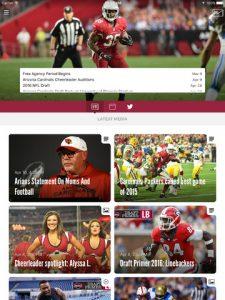 Arizona Cardinals NFL Game App Review