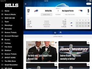 Buffalo Bills NFL Game Apps Review