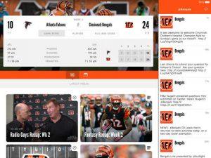Cincinnati Bengals NFL Game Apps Review