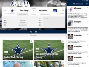 Dallas Cowboys NFL Game Apps Review