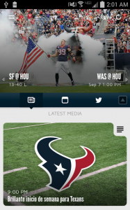 Houston Texans NFL Game Apps Review