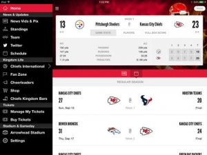 Kansas City Chiefs NFL Game Apps Review