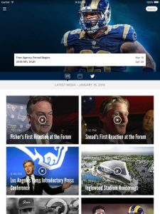 Los Angeles Rams NFL Game Apps Review