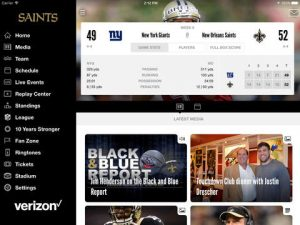 New Orleans Saints NFL Game Apps Review