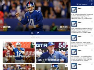 New York Giants NFL Game Apps Review