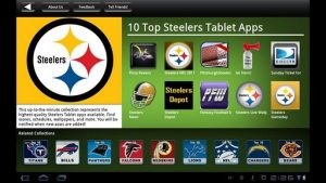 Pittsburgh Steelers NFL Game Apps Review