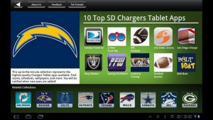 San Diego Chargers NFL Game Apps Review