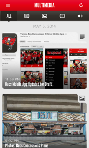Tampa Bay Buccaneers NFL Game Apps Review