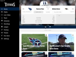 Tennessee Titans NFL Game Apps Review